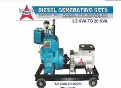 Singe Phase Air Cool Diesel Generator Set