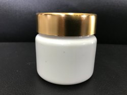 Plastic HDPE Cosmetic Jar