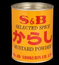 S & B Selected Spice Mustard Powder, Packaging Type: Tin, Packaging Size: 400g