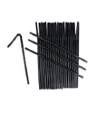 Bendy Black Straw