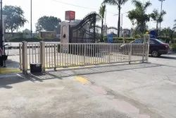 Stainless Steel Remote Control Gate