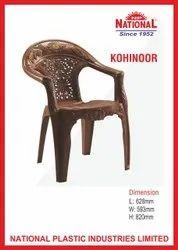 National Kohinoor Plastic Chair