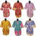 Old Sari Kimono Dress