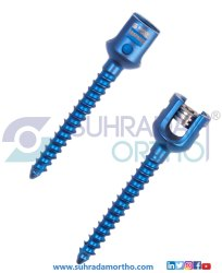 Monoaxial Pedicle Screw Single Lock
