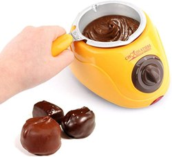 Portable Electric Chocolate Melting Pot with Chocolate Making Kit