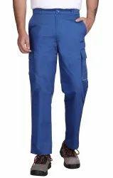 Cotton Blend Twill Comfort, Regular Mens Cargo Pants, Waist Size: 30-36