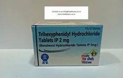 Benzhexol Trihexyphenidyl Hydrochloride Tablets IP