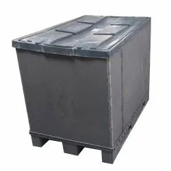 Grey PP 750 Kg Pallet Sleeve Box, For Automobile Packaging