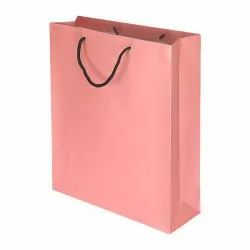 Yessirbags Pink Custom Paper Gift Bags