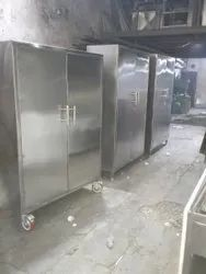 Stainless Steel Cupboard  with Wheel