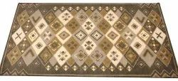 Silk Rectangular Hand Knotted Moroccan Rugs, For Floor
