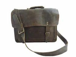 Vintage Leather Briefcase Bag