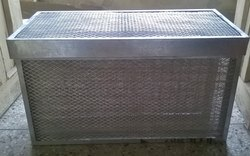 Galvanized High Velocity Panel Filter