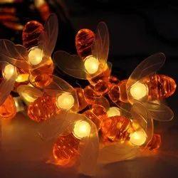 SPJ Selection Plastic Honey Bee String Light 16 LED, 11 W - 15 W, Voltage: 16W
