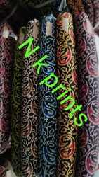 N K prints cotton jaipuri printed nighty running fabrics
