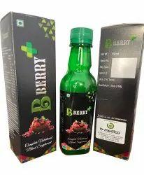 B Medico Syrup Berry Complete Nutrition Blend Supplement, 250 Ml, Non prescription