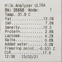 Milk Analyzer Kurien Twinsonic With Printer