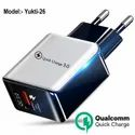 3amp 18w Super Fast Qc3.0 Charger For Oppo Android Samsung Iphone