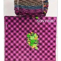 Colored  Cotton Nighty Fabric