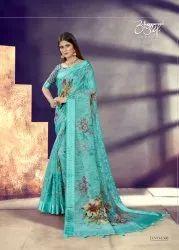 Digital Printed Fancy Saree