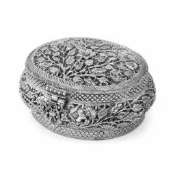 Silver Plated Jewellery Box For Use & Corporate Gift