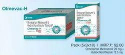 Olmesartan Medoxomil and Hydrochlorothiazide Tablets IP