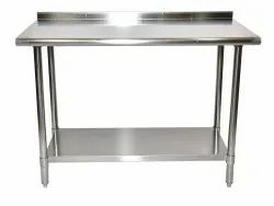 Stainless Steel Working Table, Size: 48 X 24 X 34 Inch