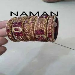 New Design Traditional Kundan Bangle For Women And Girl Bijoux