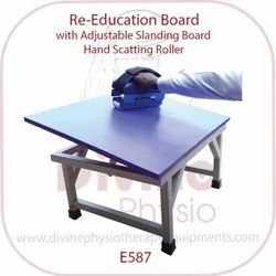 Re-Education Board with Scatting Roller