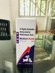 A Highly Palatable Amino Acid & Multivitamin Tonic