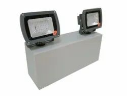 20 W Aluminum Led Rechargeable Portable Flood Light, For indoor, IP Rating: IP55