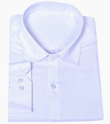 Garmenting Quick Wash & Dry Pc School Uniform White Shirt
