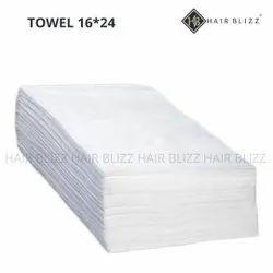 White 16x24inch Cotton Hand Towel