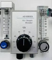 Air Oxygen Blender High Flow Flow (1-10 6-60LPM)