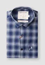 100% Cotton Collar Neck Multi Branded Men Shirts