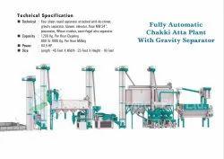 Fully Automatic Industrial Atta Chakki Plant