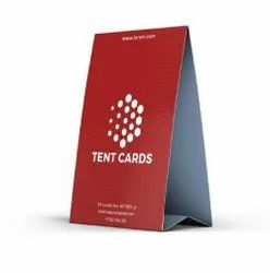 Paper Tent Card Printing Service, in PAN INDIA