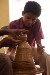 Between 8am - 5pm 1 Month Pottery Training Class In Kochi