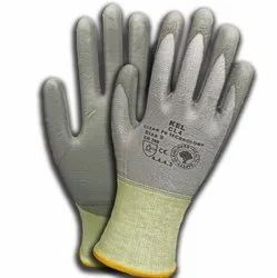 CL4 -Cut Resistant Level 4 Gloves PU Coated