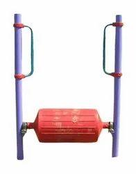 Mild Steel Outdoor Gym Standing Roller