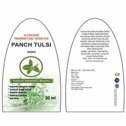 Ayurvedic Panch Tulsi Drops