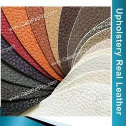 Natural Grain Upholstery Leather, 1.2-1.5 Mm