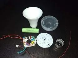 Ok Bright Indian Round Driver AC DC Rechageable Bulb