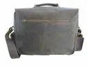 Buffalo Leather Office Shoulder Bag