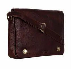 Bata Brown Messenger Bags