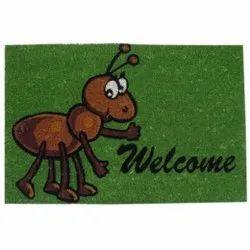Printed Fiber Doormat