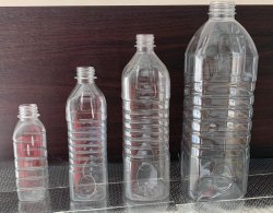 Screw Cap Square Pet Bottle, Use For Storage: Oils