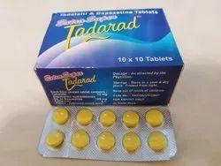 Tadalafil and Dapoxetine Tablets