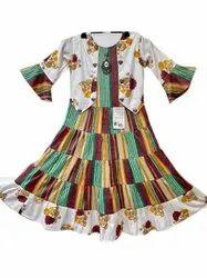 Girls Cotton Gown