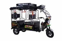 Mini Metro (Gold SS) Battery Operated E Rickshaw
